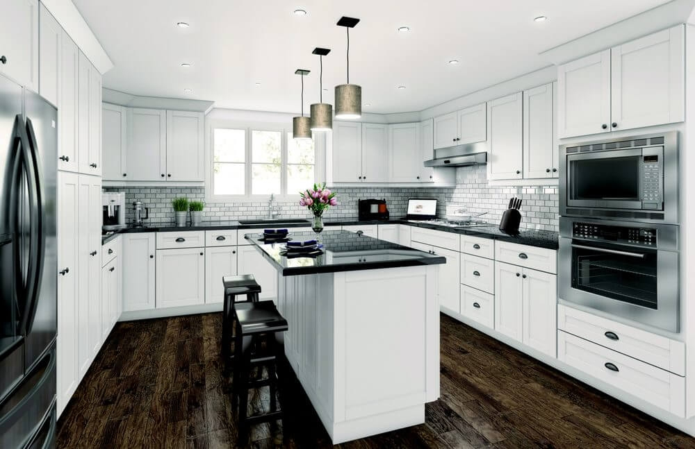 Why White Shaker Cabinets Continue to Be Popular Kitchen ...