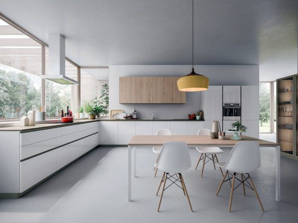 L Shaped Kitchen Floorplan